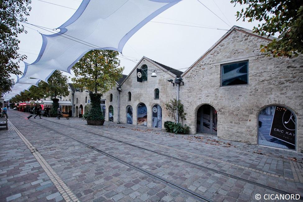 Restructuration du lot C de Bercy Village à Paris